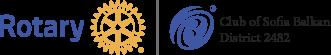 Ротари Клуб София – Балкан Лого