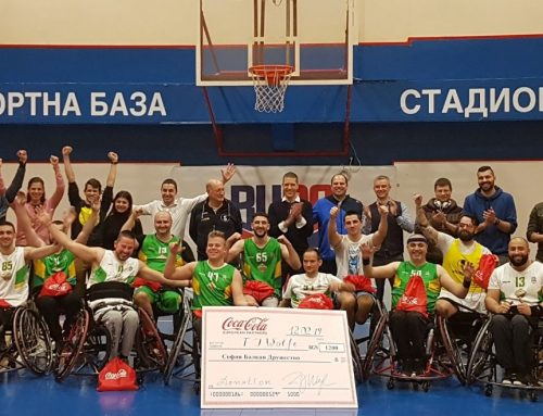 Corporate support of Sofia Balkan basketball team