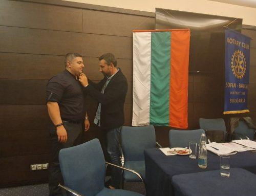 Нов член на РК София Балкан – Васил Мелников